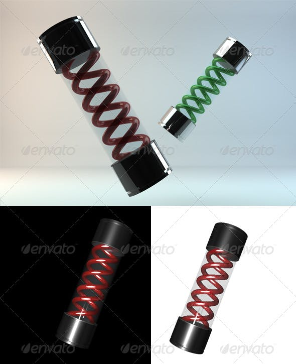 T-Virus Vial - 3DOcean Item for Sale