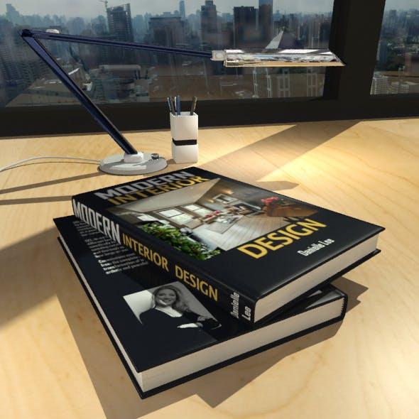 Interior Design Book #1 - 3DOcean Item for Sale