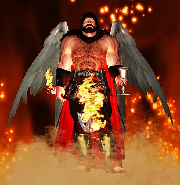 Epic God - 3DOcean Item for Sale