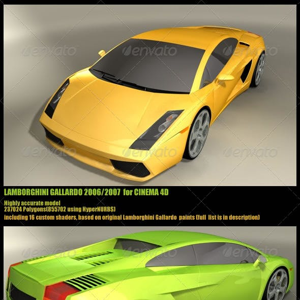 Gallardo Cg Textures 3d Models From 3docean