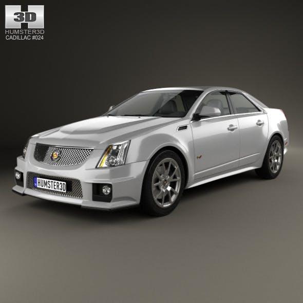 Cadillac CTS-V sedan 2009