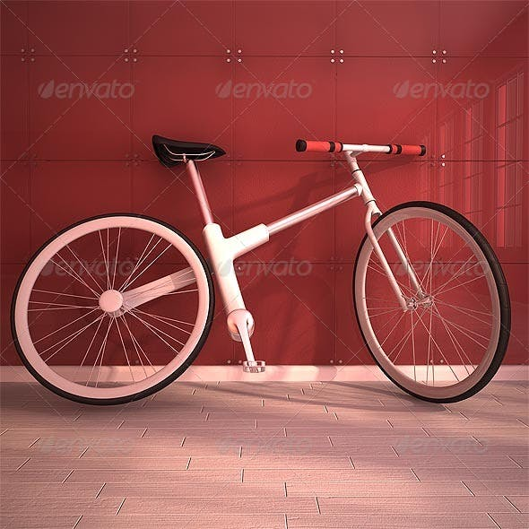 Modern Bicycle - 3DOcean Item for Sale
