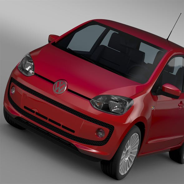 VW UP 5 door 2012