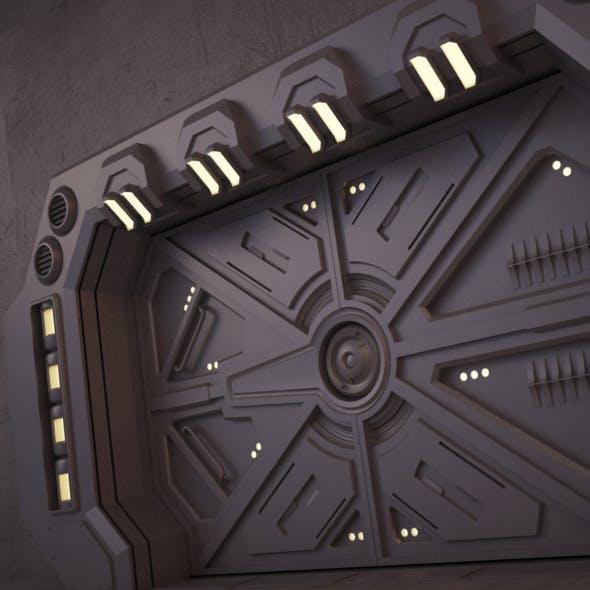 Sci-Fi Door 02 - 3DOcean Item for Sale