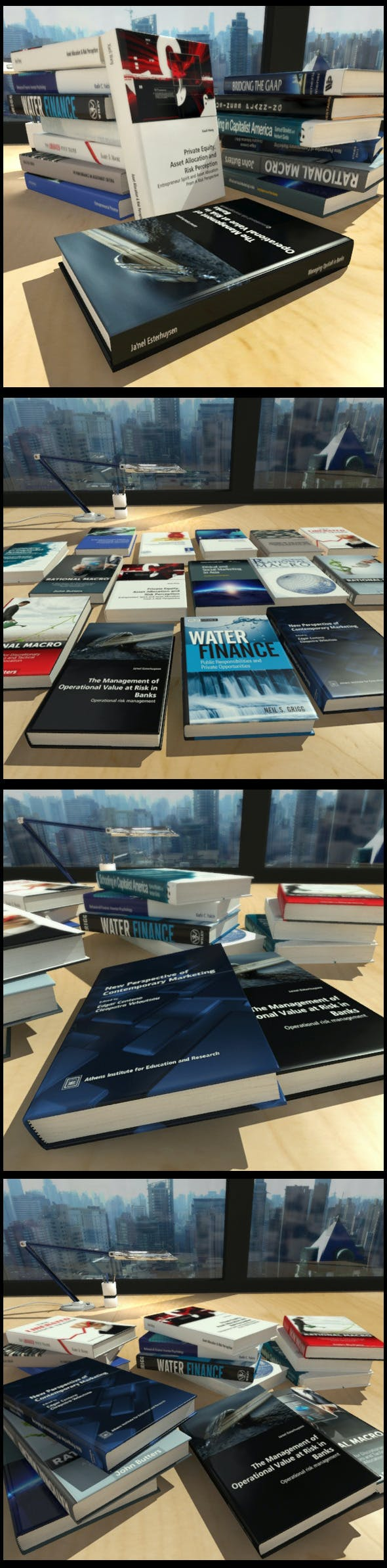 15 Business Books - 3DOcean Item for Sale