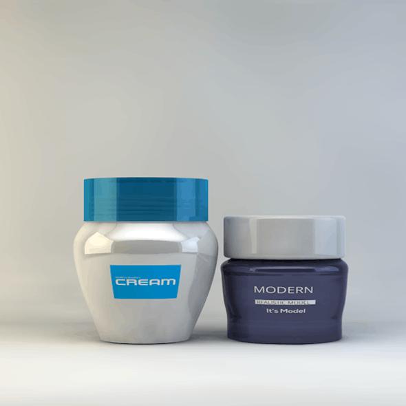 Cosmetics Cream Containers