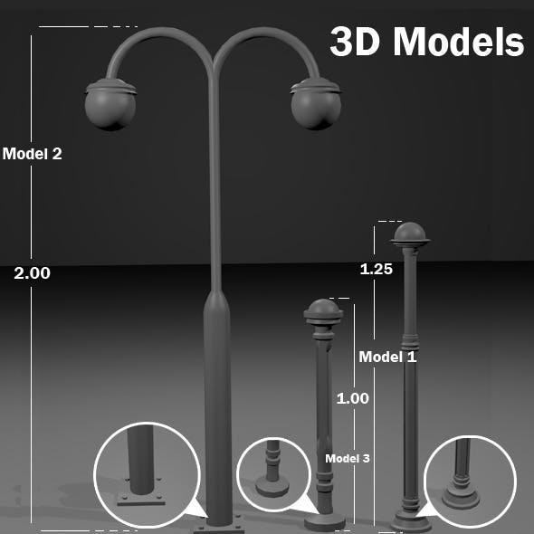 Public Lights - 3DOcean Item for Sale