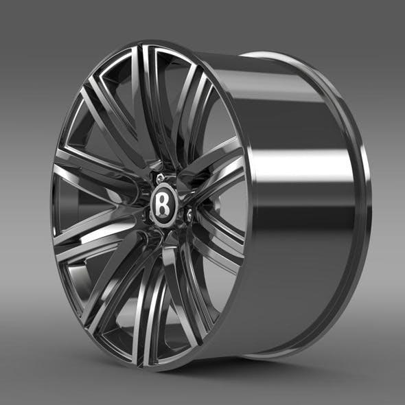 Bentley Continental GT Speed rim