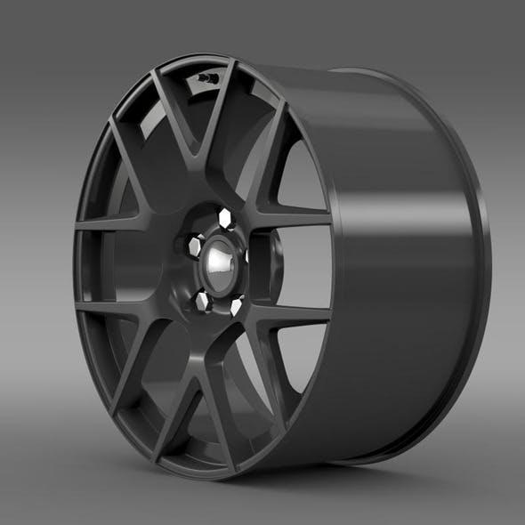 Dodge Challenger RT Shaker rim - 3DOcean Item for Sale
