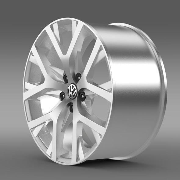 Volkswagen CrossPolo 2014 rim - 3DOcean Item for Sale