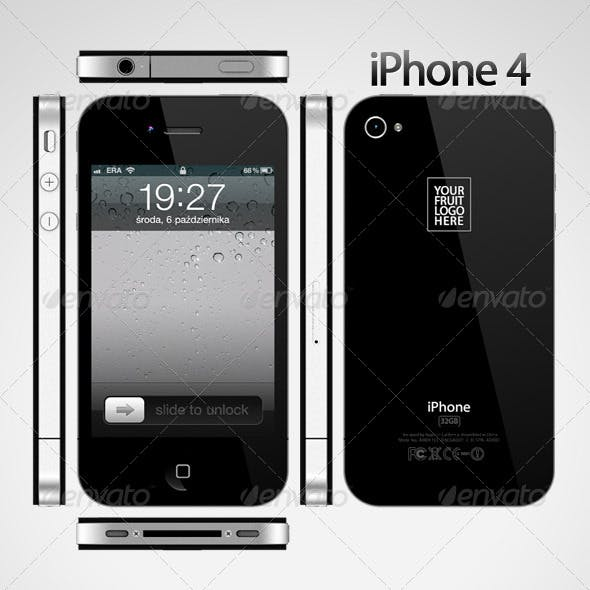 iPhone 4 - 3DOcean Item for Sale