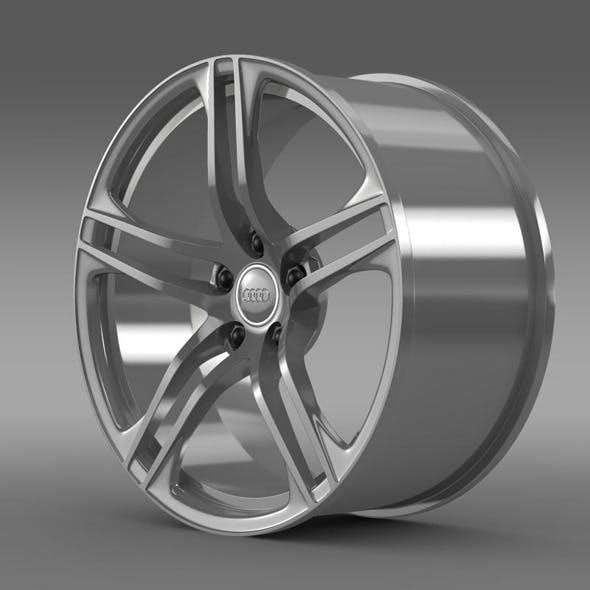 Audi R8 GT rim - 3DOcean Item for Sale