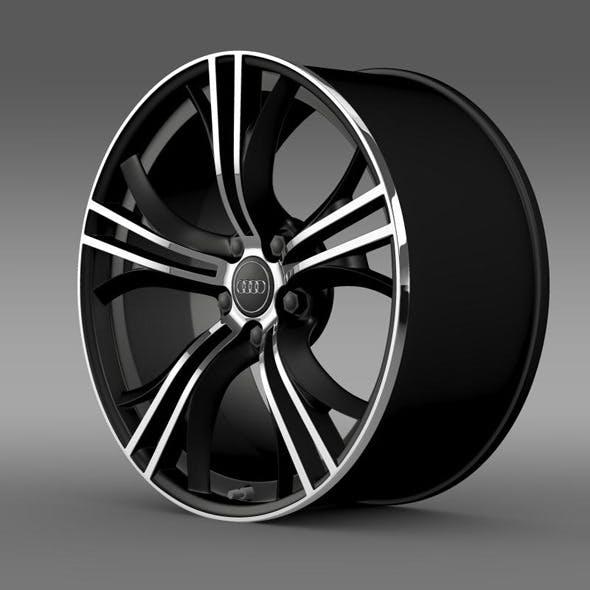 Audi R8 V10 Exclusive rim - 3DOcean Item for Sale