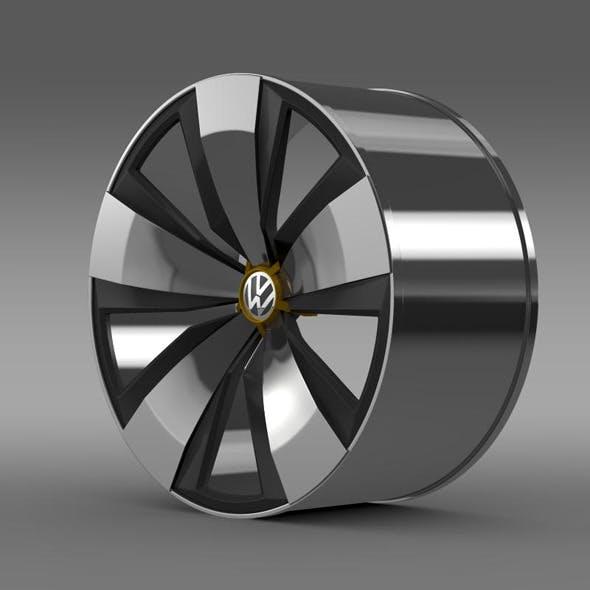 Volkswagen Beetle Dune rim - 3DOcean Item for Sale
