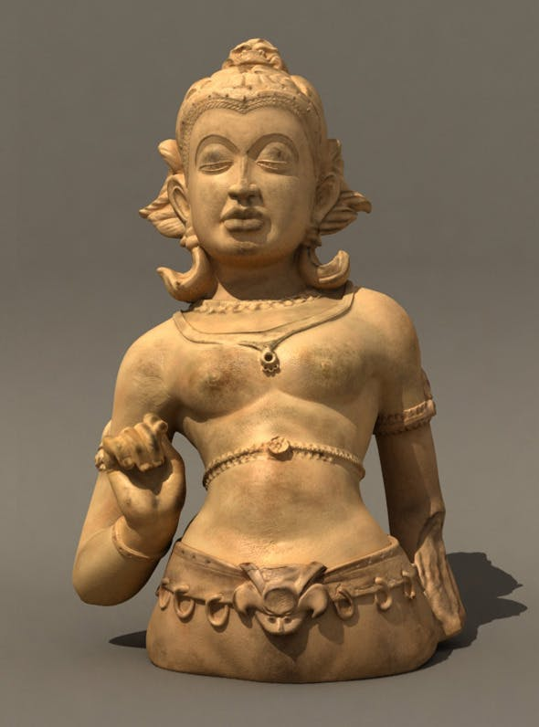 Indian sculpture - 3DOcean Item for Sale