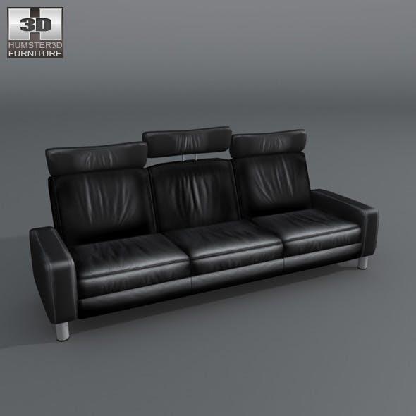 Space 3-seat sofa High-back - Ekornes Stressless - 3DOcean Item for Sale