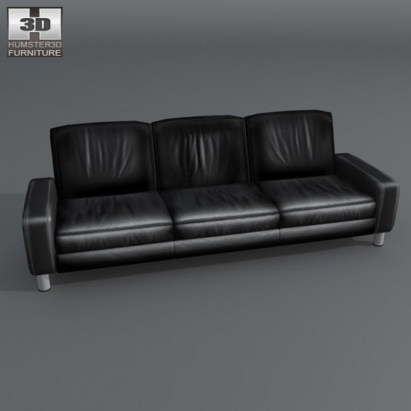 Space 3-seat sofa Low-back - Ekornes Stressless