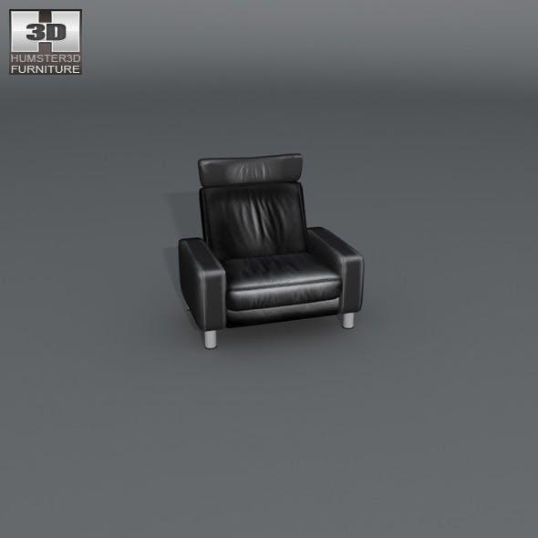 Space armchair high-back - Ekornes Stressless - 3DOcean Item for Sale