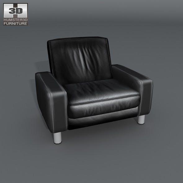 Space armchair Low-back - Ekornes Stressless - 3DOcean Item for Sale