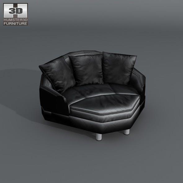 Space corner medium sofa - Ekornes Stressless - 3DOcean Item for Sale