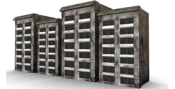 Burnt Building  - 3DOcean Item for Sale