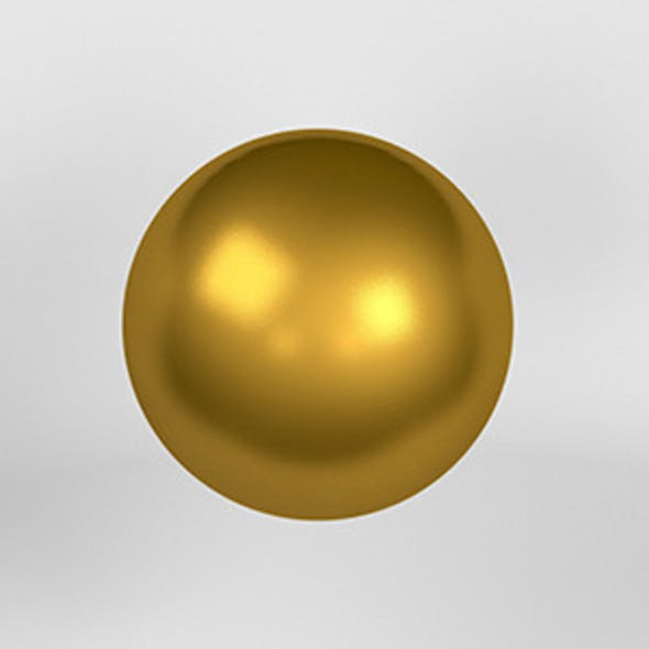 Gold Material Vray