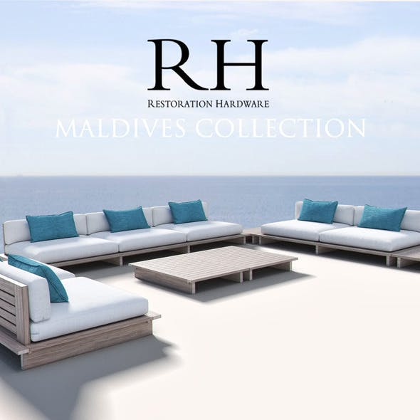 Restoration Hardware - Maldives Collection