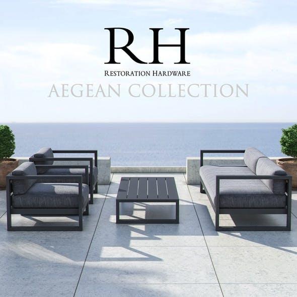 Restoration Hardware - Aegean Collection - 3DOcean Item for Sale