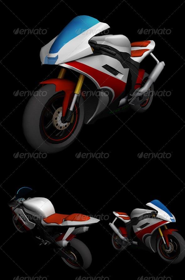 Bike 2 - 3DOcean Item for Sale