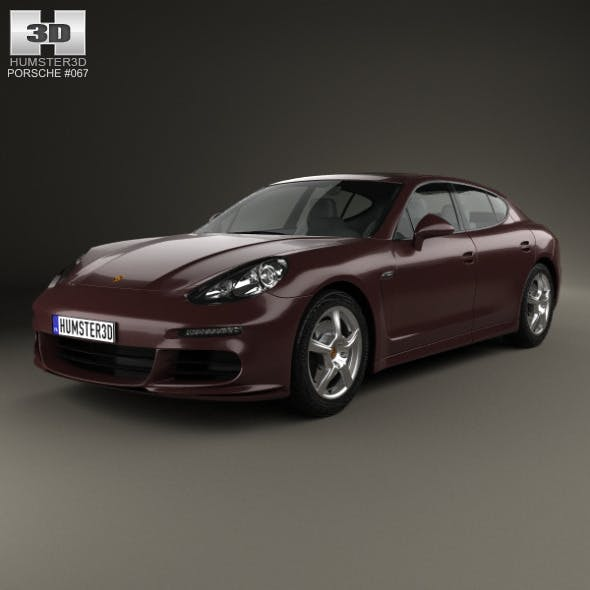 Porsche Panamera 2014 - 3DOcean Item for Sale