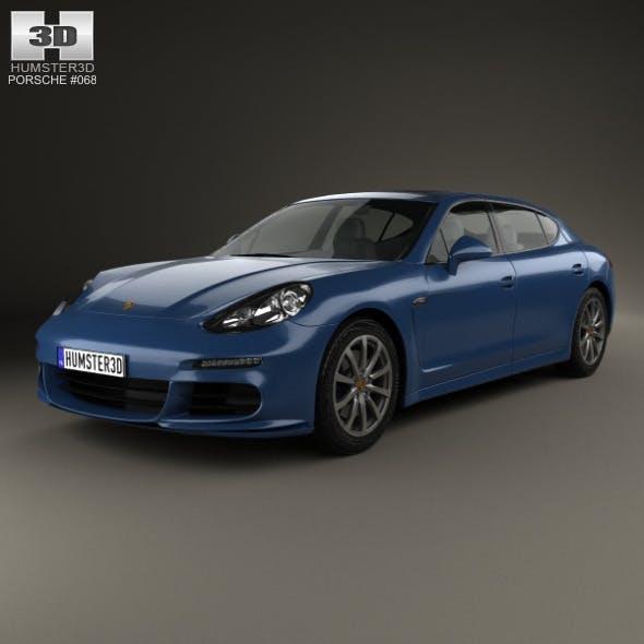 Porsche Panamera 4S Executive 2014 - 3DOcean Item for Sale