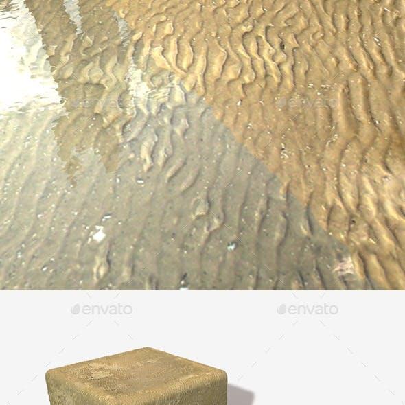 Wavy Wet Sand Seamless Texture