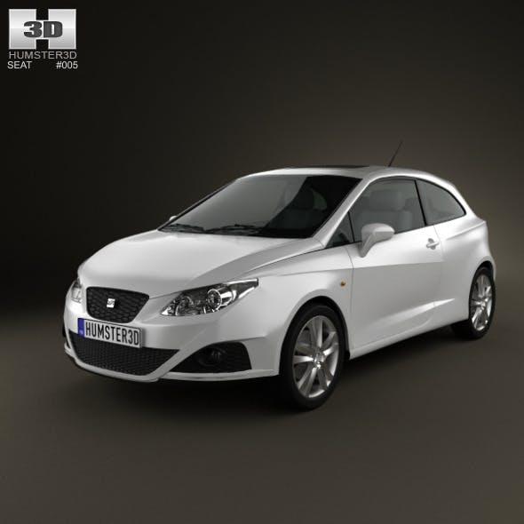 Seat Ibiza Sport Coupe 3door 2011 - 3DOcean Item for Sale