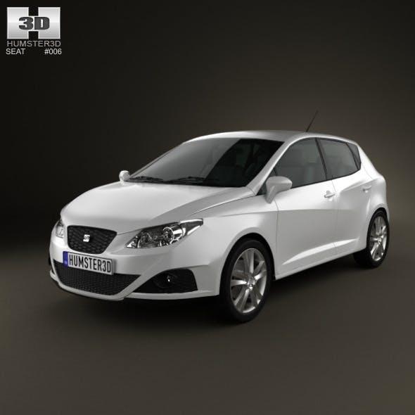 Seat Ibiza hatchback 5door 2011 - 3DOcean Item for Sale