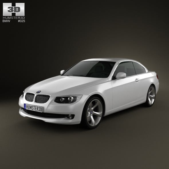 BMW 3 series Convertible 2011 - 3DOcean Item for Sale