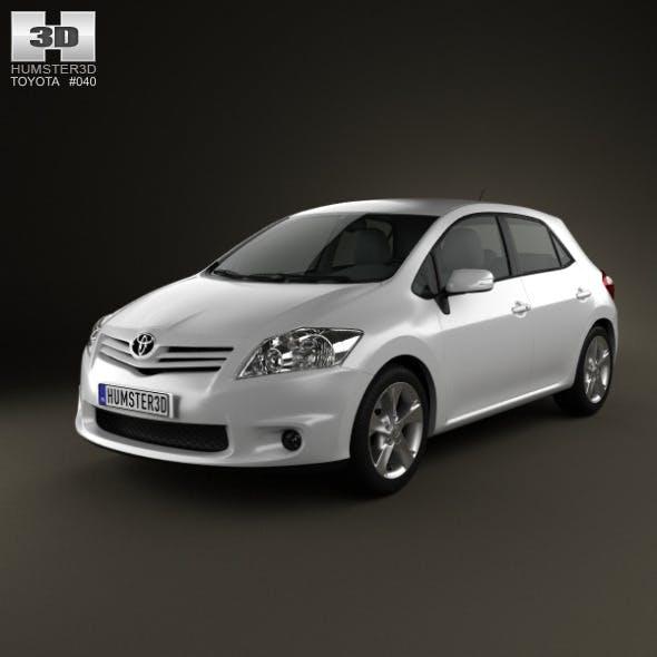 Toyota Auris 2012 - 3DOcean Item for Sale