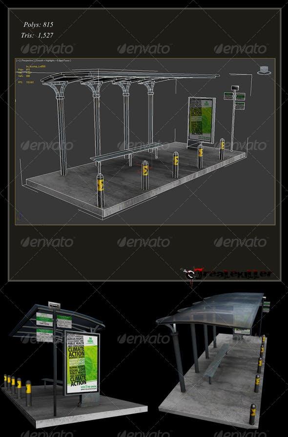 bus station - 3DOcean Item for Sale