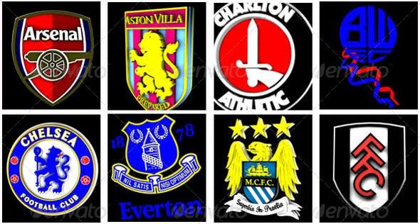 Premiership Logos - 3DOcean Item for Sale