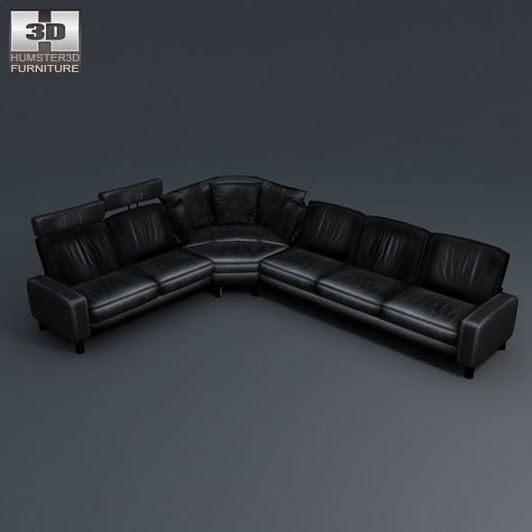 Space corner sofa - Ekornes Stressless - 3D Model.