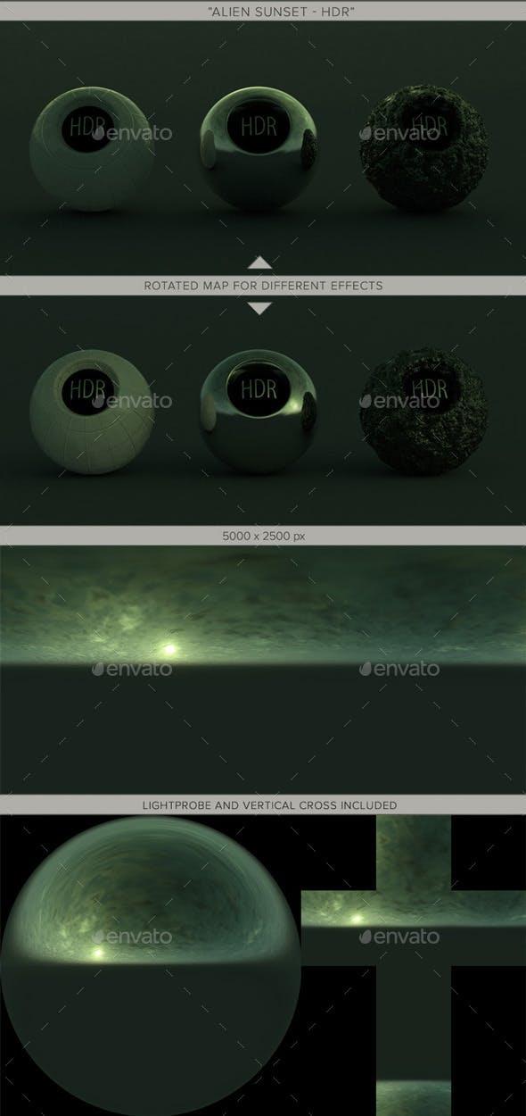 Alien Sunset - 3DOcean Item for Sale