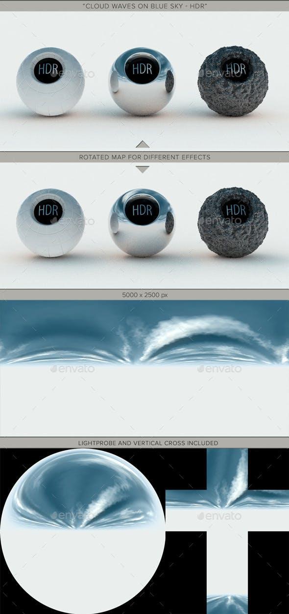Cloud Waves Blue Sky - 3DOcean Item for Sale
