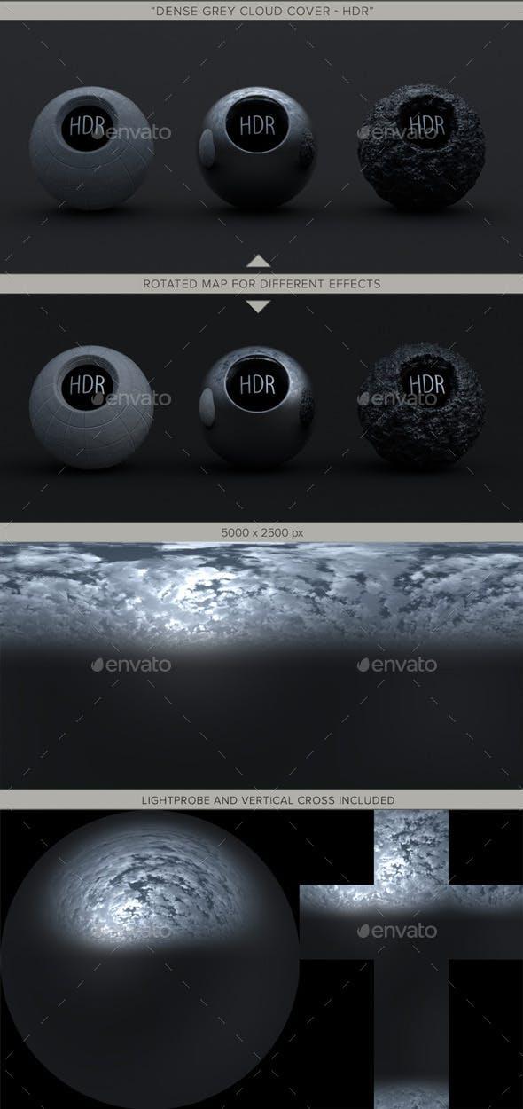 Dense Grey Cloud Cover - 3DOcean Item for Sale