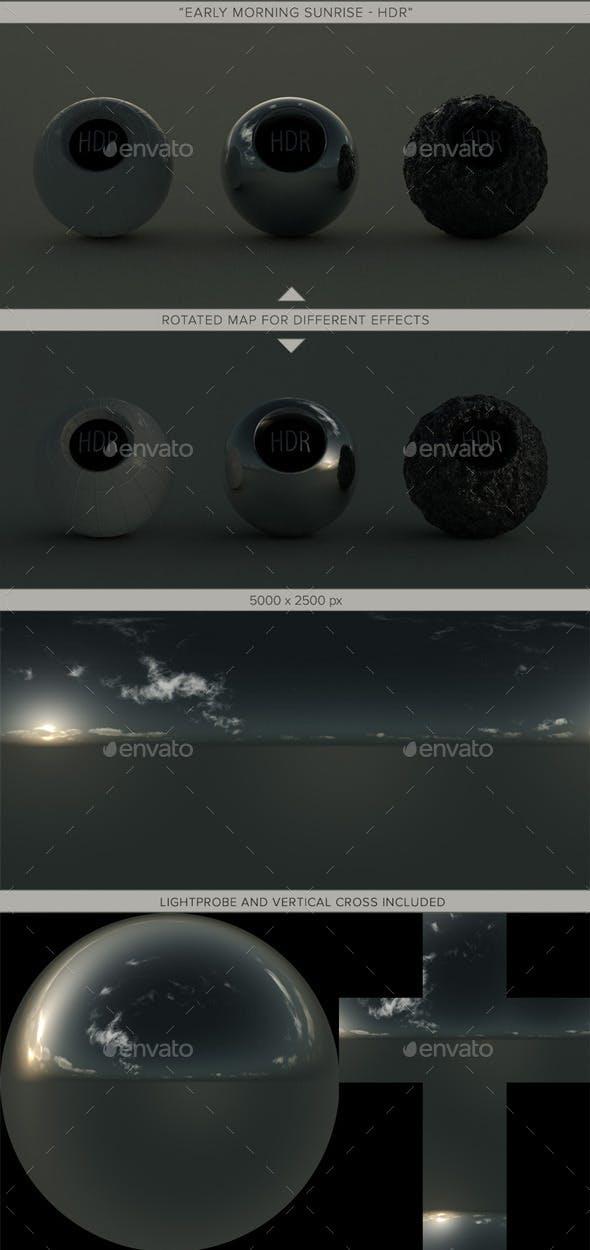 Early Morning Sunrise. - 3DOcean Item for Sale
