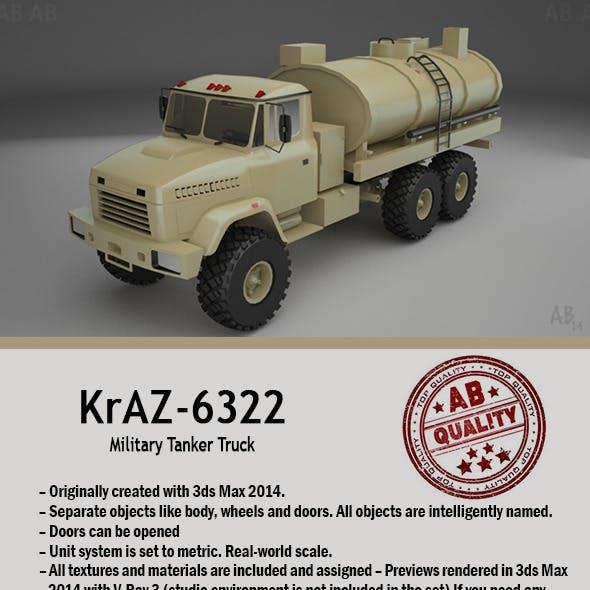 Military Tanker Truck (KrAZ-6322)