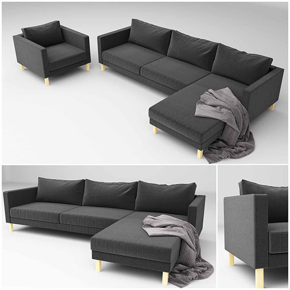 ikea KARLSTAD - 3DOcean Item for Sale