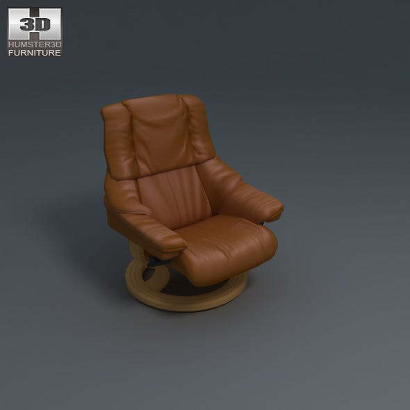 Vegas Chair - Ekornes Stressless - 3D Model.