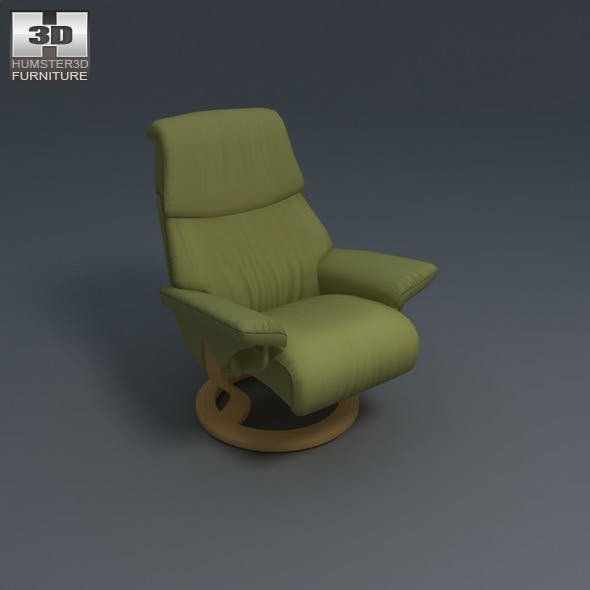 Vision armchair - Ekornes Stressless - 3D Model.