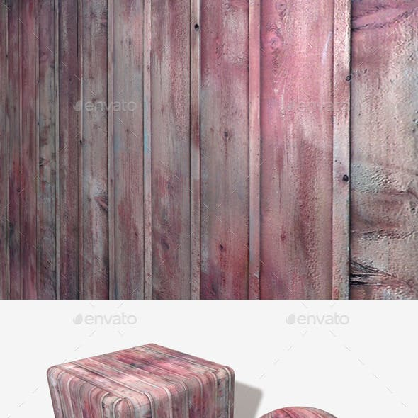 Red Wood Planks Seamless Texture