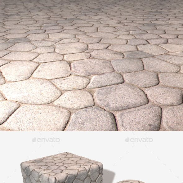 Smooth Stone Floor Seamless Texture