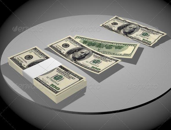Dollars - 3DOcean Item for Sale